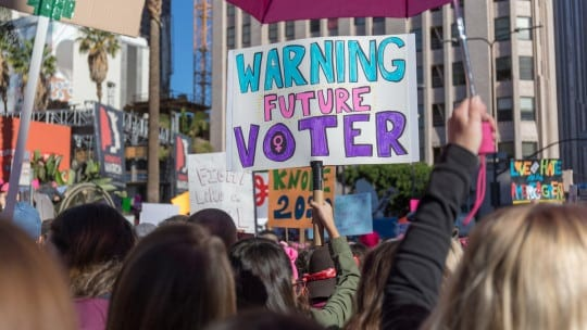 Women stage nationwide protests as Trump begins second year
