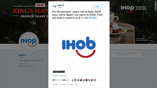 Wendy's Serves Sass to IHOb Over Name Change