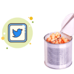 can of beans, twitter symbol
